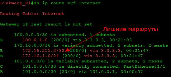 Сети Для Самых Маленьких. Микровыпуск №6. MPLS L3VPN и доступ в Интернет - 19