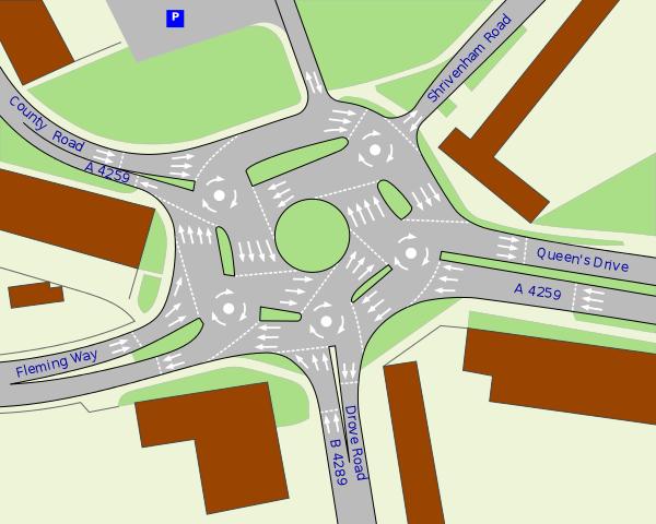 Волшебная круговая развязка: кругосветное путешествие по самой сложной дорожной развязке в мире - 2