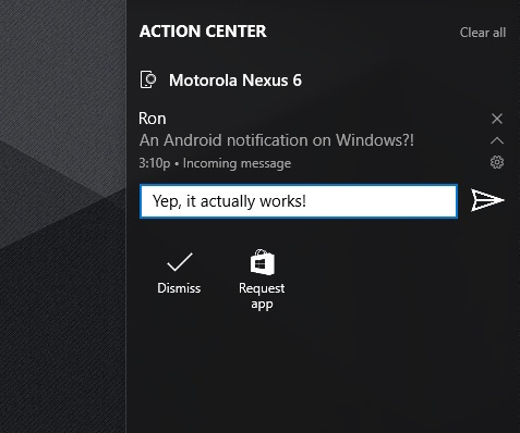 Android-уведомления на Windows 10: как подружить две ОС? - 9
