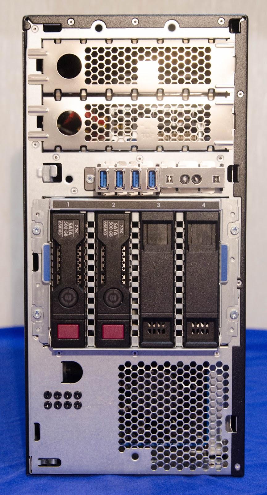 MаL, да удал: Обзор младших серверов линейки HPE ProLiant ML - 6