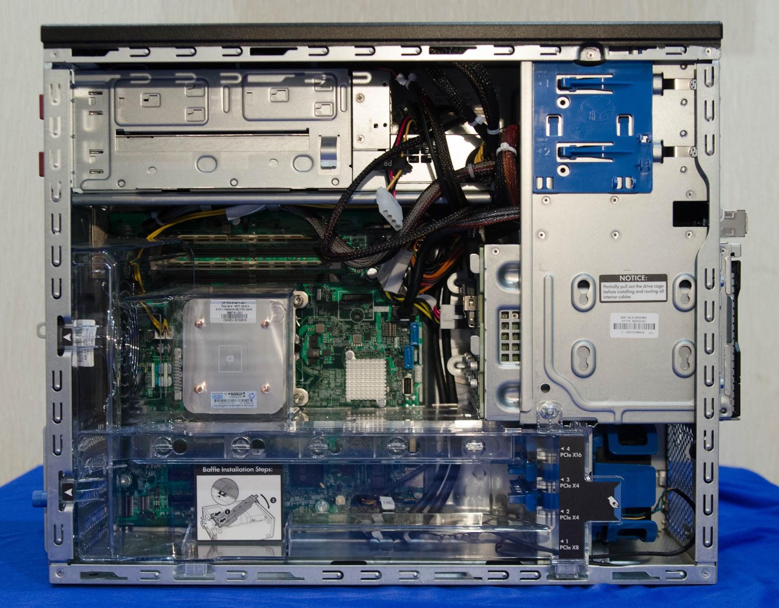 MаL, да удал: Обзор младших серверов линейки HPE ProLiant ML - 9
