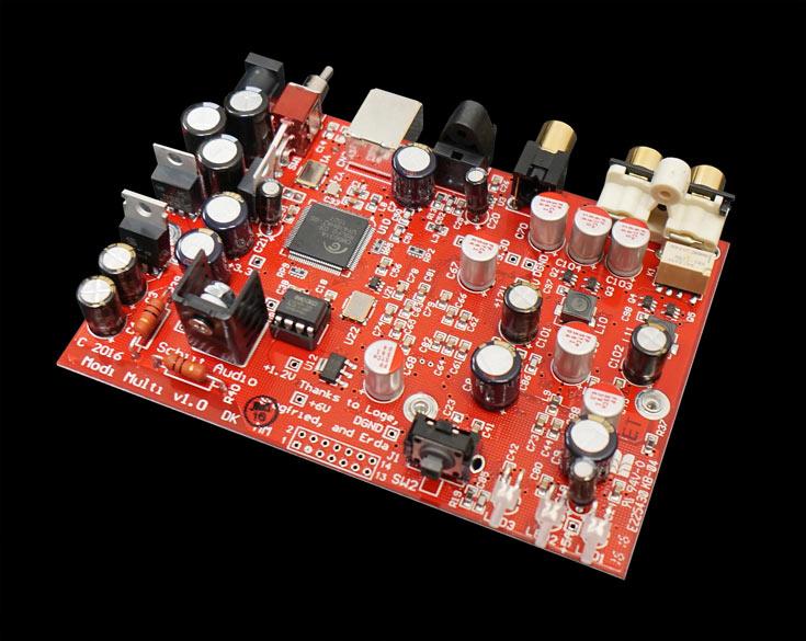 По словам производителя, Modi 2 Multibit — самый доступный мультибитный ЦАП