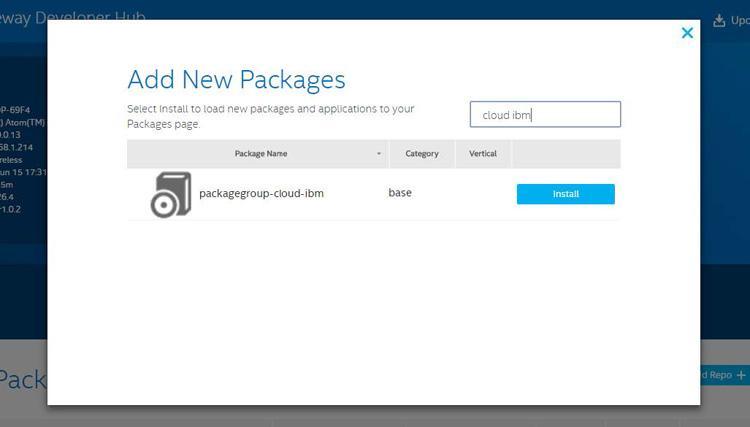 Подключение шлюзов Intel для интернета вещей к IBM Watson - 5