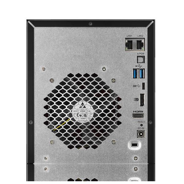 Сетевое хранилище Thecus N4810 поддерживает массивы объемом до 40 ТБ - 2