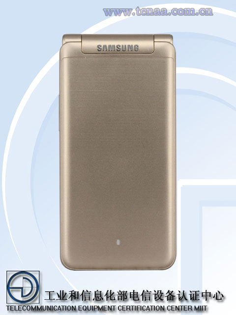 Смартфон Samsung Galaxy Folder 2 размерами 122 x 60,2 x 15,5 мм весит 155 г