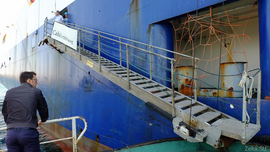 Строительство линии связи Камчатка – Сахалин – Магадан. Экскурсия на Cable Innovator — судно-кабелеукладчик - 10