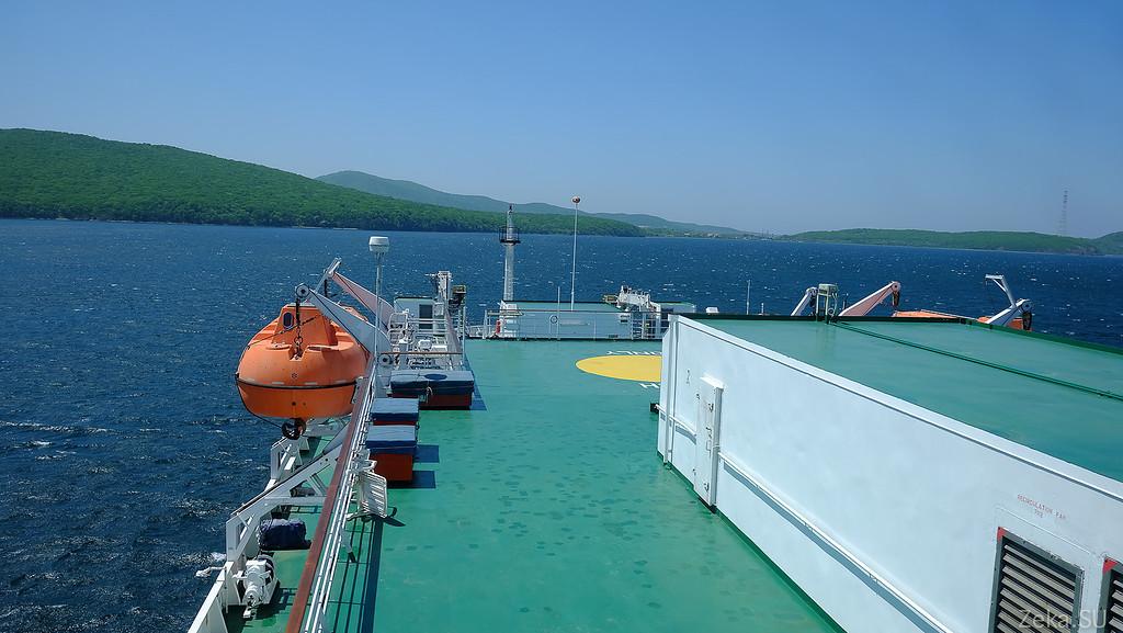 Строительство линии связи Камчатка – Сахалин – Магадан. Экскурсия на Cable Innovator — судно-кабелеукладчик - 15