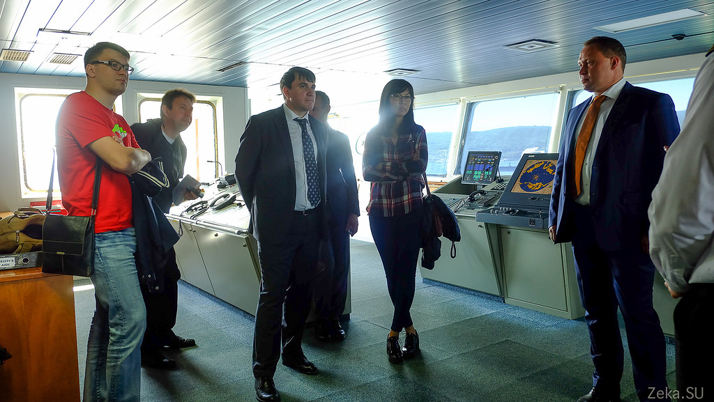 Строительство линии связи Камчатка – Сахалин – Магадан. Экскурсия на Cable Innovator — судно-кабелеукладчик - 19