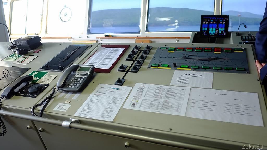 Строительство линии связи Камчатка – Сахалин – Магадан. Экскурсия на Cable Innovator — судно-кабелеукладчик - 21