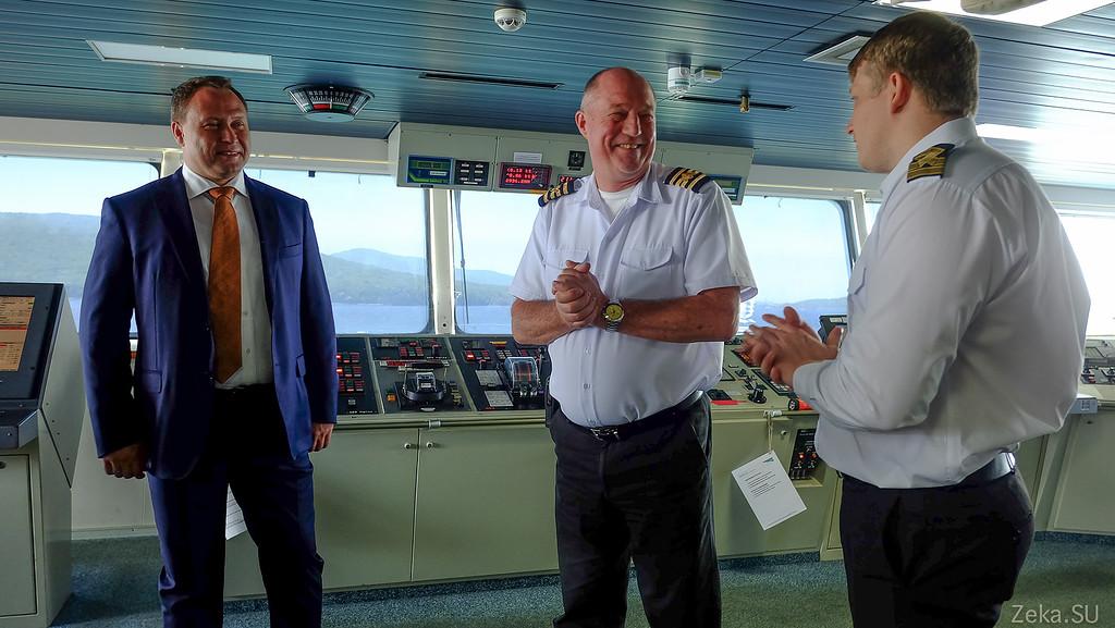 Строительство линии связи Камчатка – Сахалин – Магадан. Экскурсия на Cable Innovator — судно-кабелеукладчик - 25