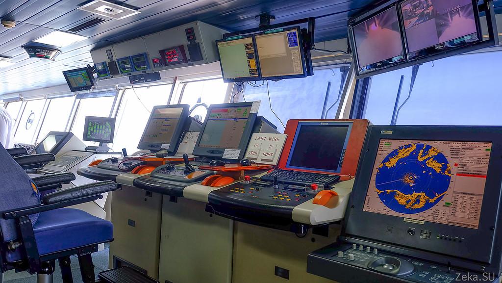 Строительство линии связи Камчатка – Сахалин – Магадан. Экскурсия на Cable Innovator — судно-кабелеукладчик - 27