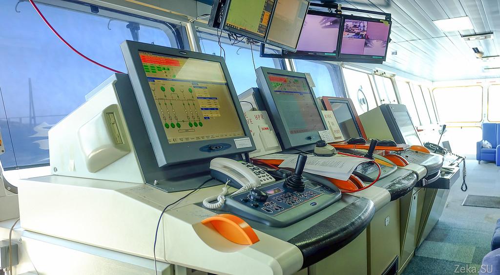 Строительство линии связи Камчатка – Сахалин – Магадан. Экскурсия на Cable Innovator — судно-кабелеукладчик - 28