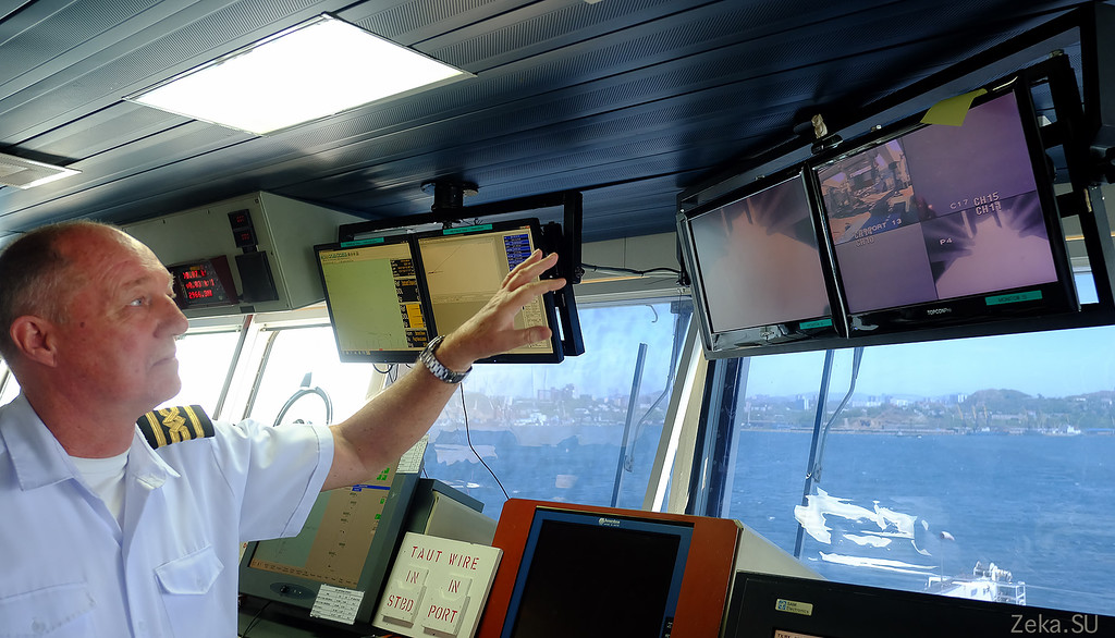 Строительство линии связи Камчатка – Сахалин – Магадан. Экскурсия на Cable Innovator — судно-кабелеукладчик - 29