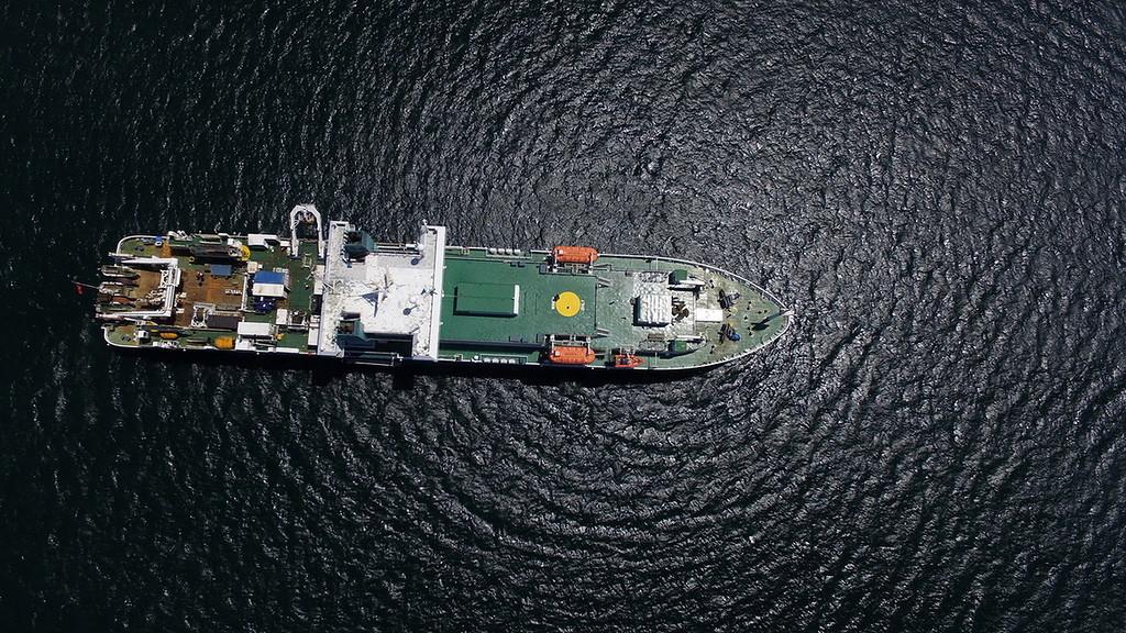 Строительство линии связи Камчатка – Сахалин – Магадан. Экскурсия на Cable Innovator — судно-кабелеукладчик - 3
