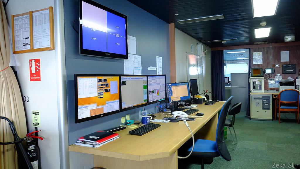 Строительство линии связи Камчатка – Сахалин – Магадан. Экскурсия на Cable Innovator — судно-кабелеукладчик - 34
