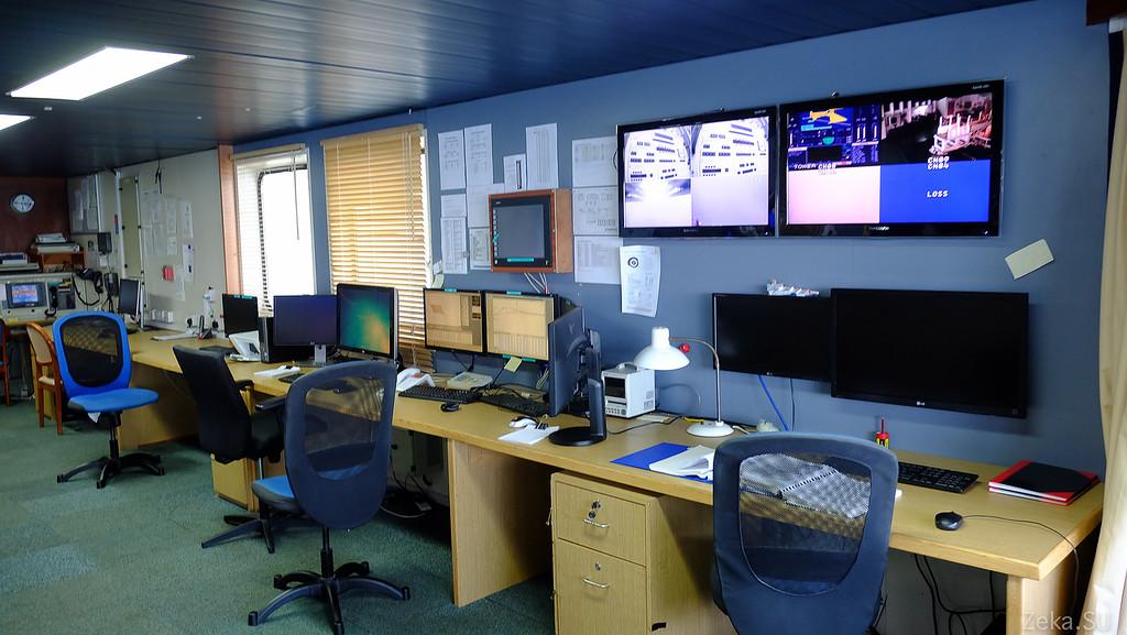 Строительство линии связи Камчатка – Сахалин – Магадан. Экскурсия на Cable Innovator — судно-кабелеукладчик - 35
