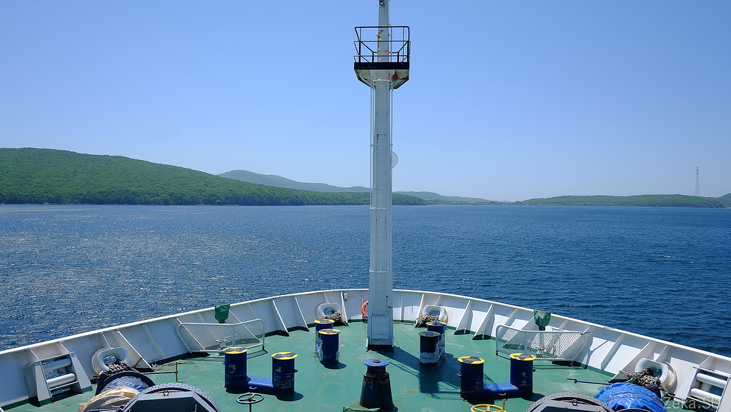 Строительство линии связи Камчатка – Сахалин – Магадан. Экскурсия на Cable Innovator — судно-кабелеукладчик - 39