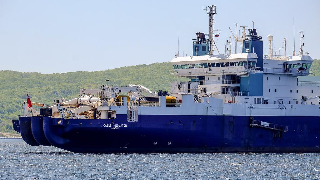 Строительство линии связи Камчатка – Сахалин – Магадан. Экскурсия на Cable Innovator — судно-кабелеукладчик - 4