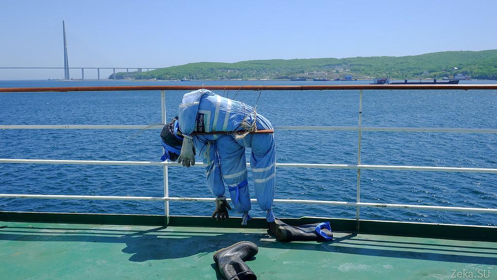 Строительство линии связи Камчатка – Сахалин – Магадан. Экскурсия на Cable Innovator — судно-кабелеукладчик - 42