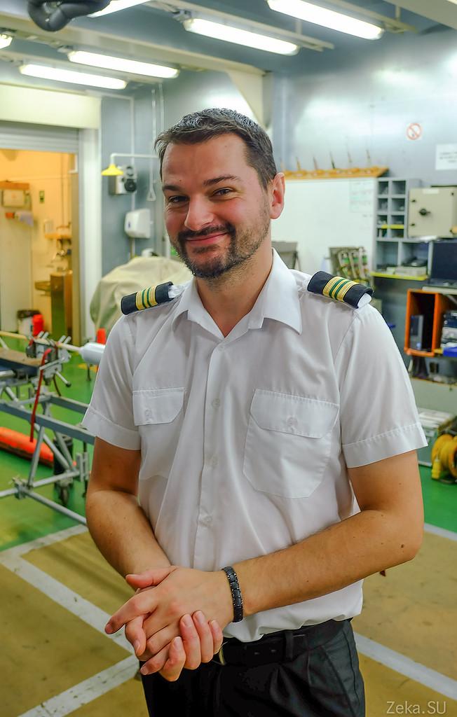 Строительство линии связи Камчатка – Сахалин – Магадан. Экскурсия на Cable Innovator — судно-кабелеукладчик - 44