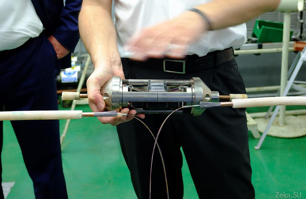 Строительство линии связи Камчатка – Сахалин – Магадан. Экскурсия на Cable Innovator — судно-кабелеукладчик - 51