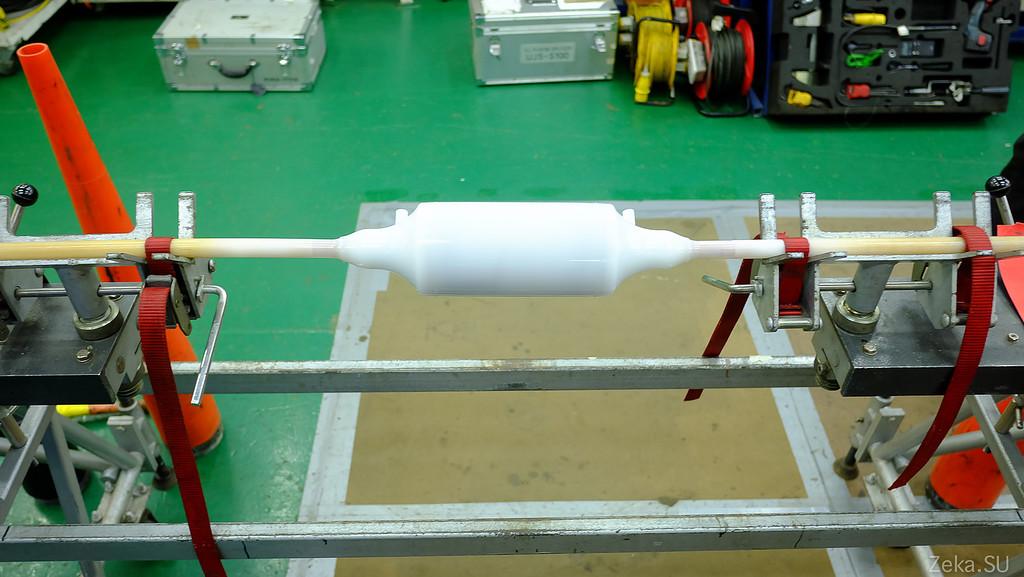 Строительство линии связи Камчатка – Сахалин – Магадан. Экскурсия на Cable Innovator — судно-кабелеукладчик - 53