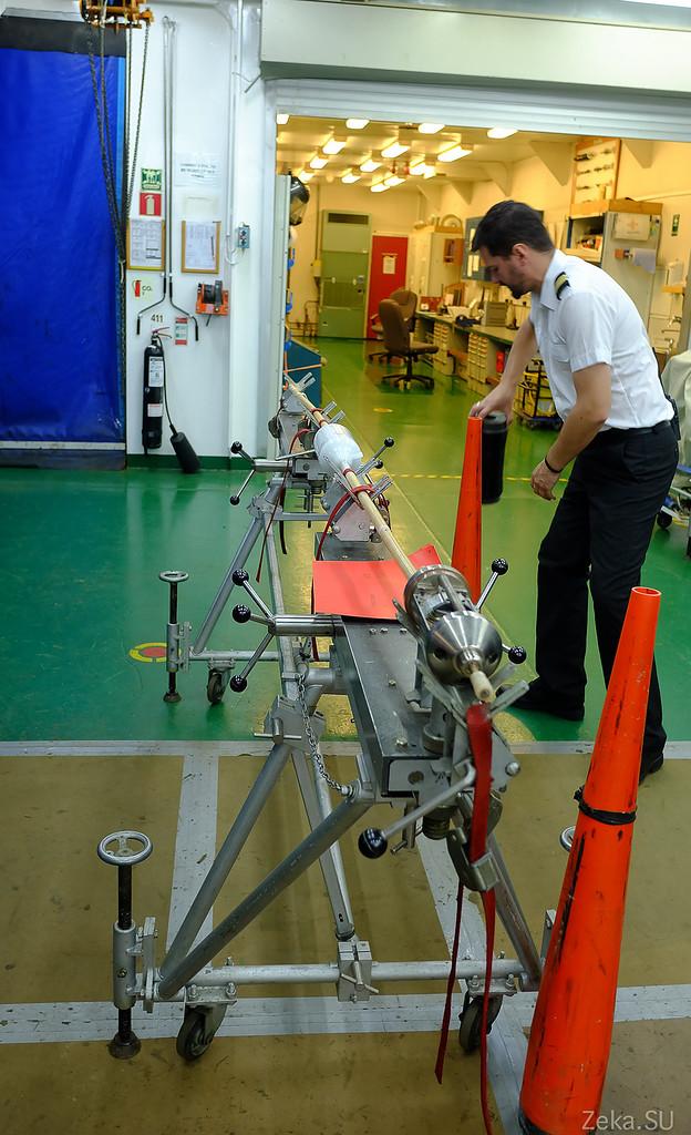 Строительство линии связи Камчатка – Сахалин – Магадан. Экскурсия на Cable Innovator — судно-кабелеукладчик - 54