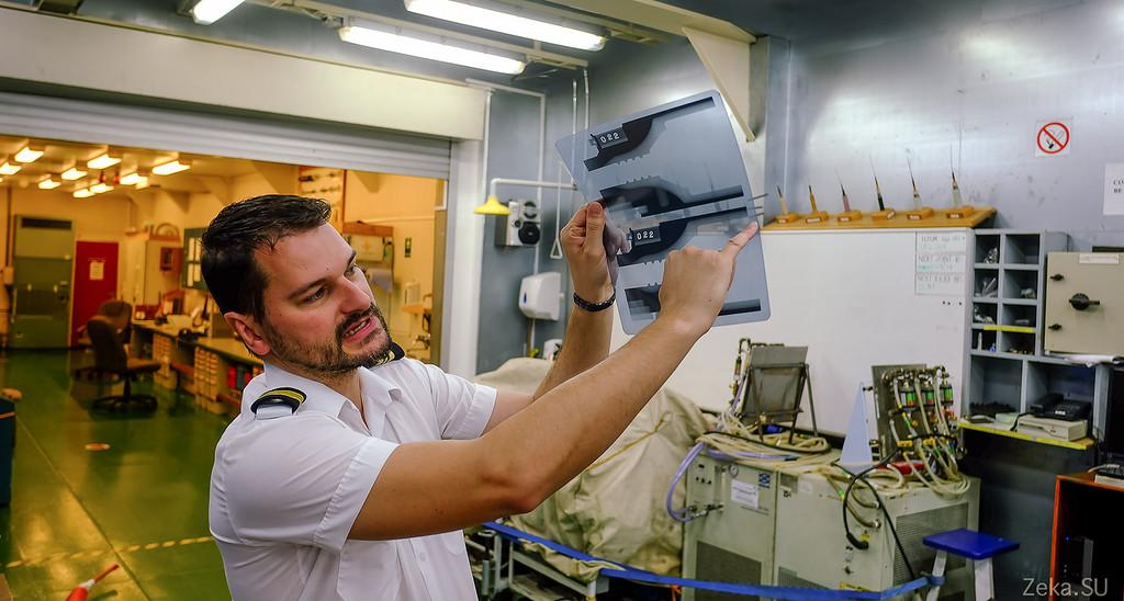 Строительство линии связи Камчатка – Сахалин – Магадан. Экскурсия на Cable Innovator — судно-кабелеукладчик - 56