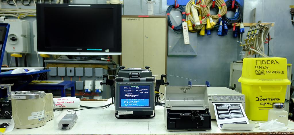 Строительство линии связи Камчатка – Сахалин – Магадан. Экскурсия на Cable Innovator — судно-кабелеукладчик - 57