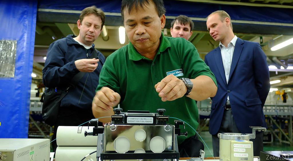 Строительство линии связи Камчатка – Сахалин – Магадан. Экскурсия на Cable Innovator — судно-кабелеукладчик - 61