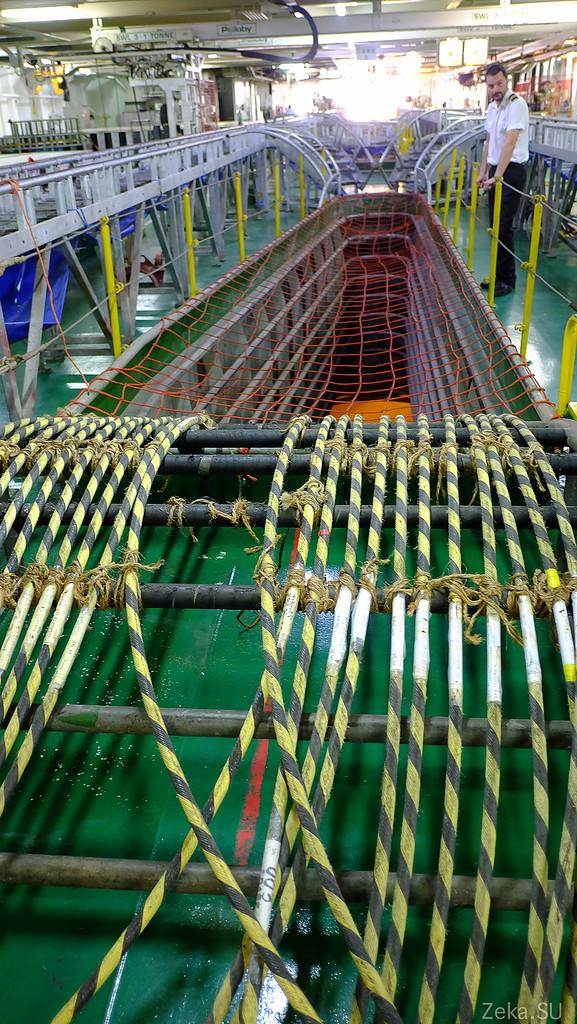 Строительство линии связи Камчатка – Сахалин – Магадан. Экскурсия на Cable Innovator — судно-кабелеукладчик - 62