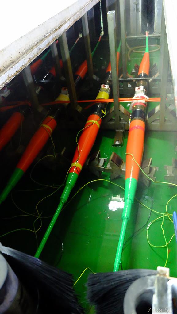 Строительство линии связи Камчатка – Сахалин – Магадан. Экскурсия на Cable Innovator — судно-кабелеукладчик - 65