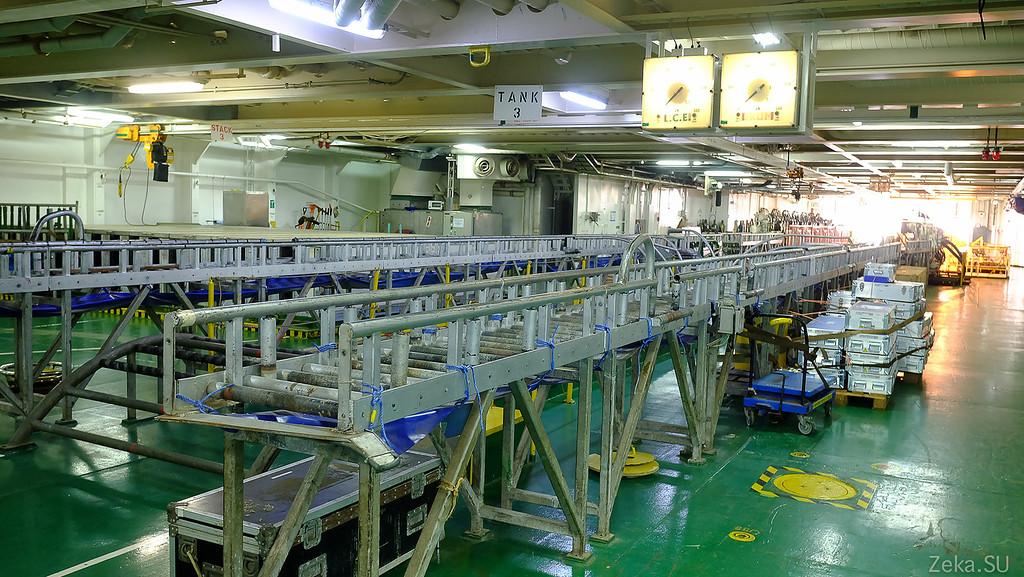 Строительство линии связи Камчатка – Сахалин – Магадан. Экскурсия на Cable Innovator — судно-кабелеукладчик - 68