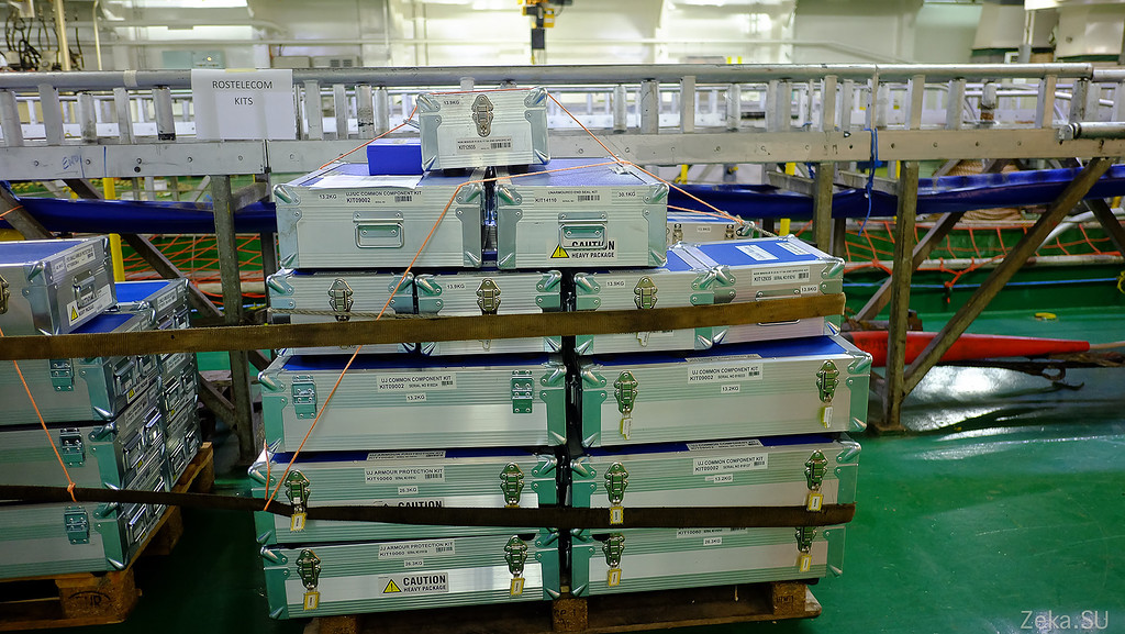 Строительство линии связи Камчатка – Сахалин – Магадан. Экскурсия на Cable Innovator — судно-кабелеукладчик - 72
