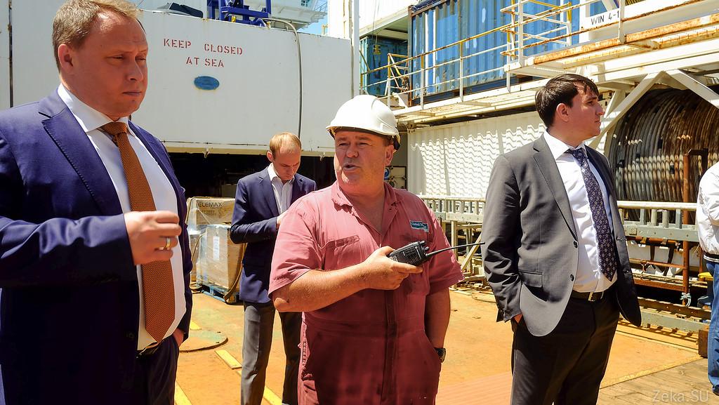 Строительство линии связи Камчатка – Сахалин – Магадан. Экскурсия на Cable Innovator — судно-кабелеукладчик - 76