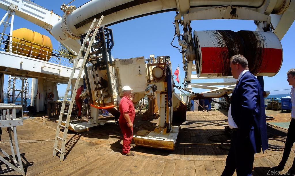 Строительство линии связи Камчатка – Сахалин – Магадан. Экскурсия на Cable Innovator — судно-кабелеукладчик - 77