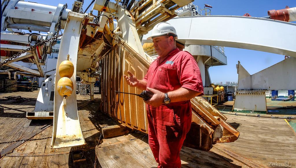 Строительство линии связи Камчатка – Сахалин – Магадан. Экскурсия на Cable Innovator — судно-кабелеукладчик - 79