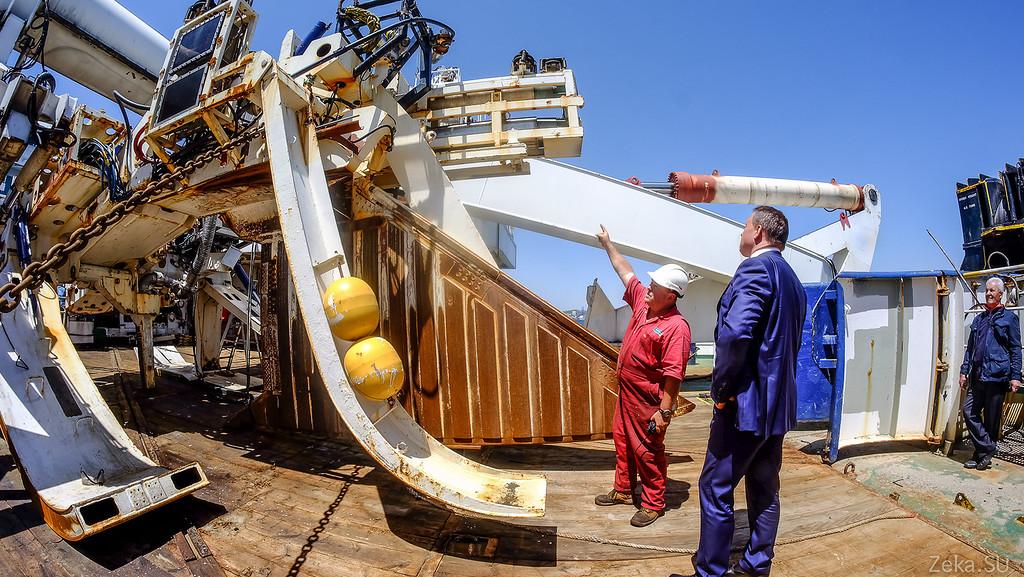 Строительство линии связи Камчатка – Сахалин – Магадан. Экскурсия на Cable Innovator — судно-кабелеукладчик - 81