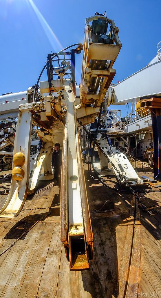 Строительство линии связи Камчатка – Сахалин – Магадан. Экскурсия на Cable Innovator — судно-кабелеукладчик - 82