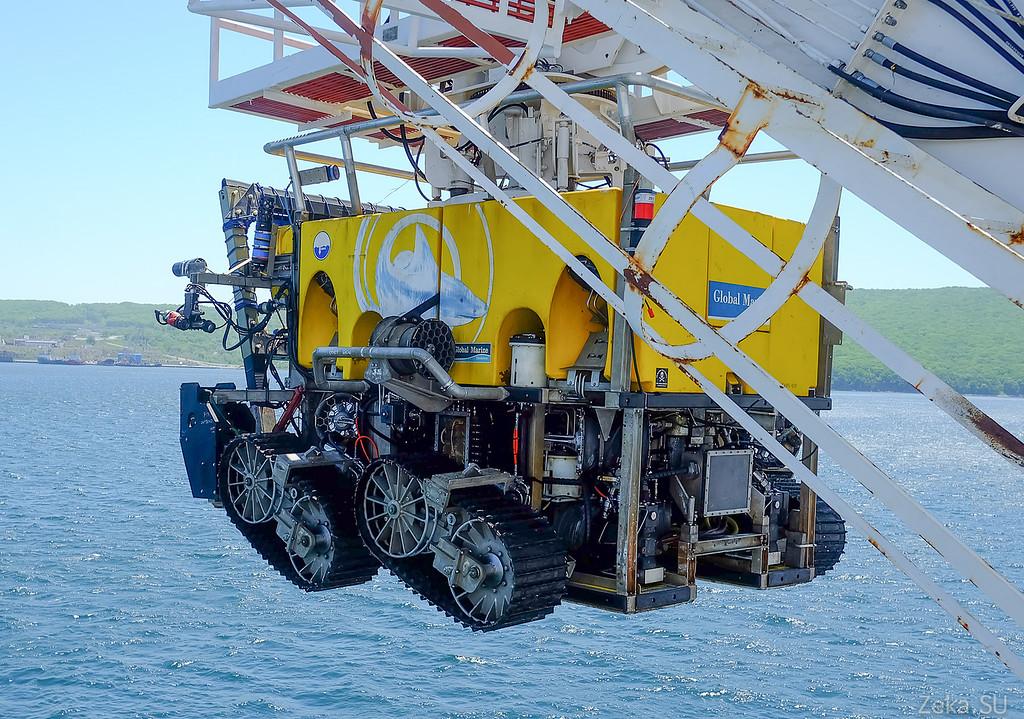 Строительство линии связи Камчатка – Сахалин – Магадан. Экскурсия на Cable Innovator — судно-кабелеукладчик - 85