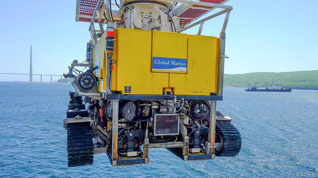 Строительство линии связи Камчатка – Сахалин – Магадан. Экскурсия на Cable Innovator — судно-кабелеукладчик - 86