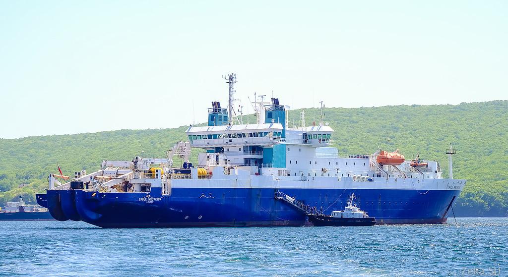 Строительство линии связи Камчатка – Сахалин – Магадан. Экскурсия на Cable Innovator — судно-кабелеукладчик - 9