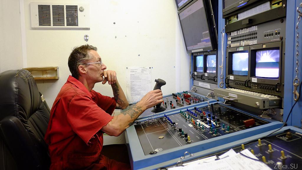 Строительство линии связи Камчатка – Сахалин – Магадан. Экскурсия на Cable Innovator — судно-кабелеукладчик - 95