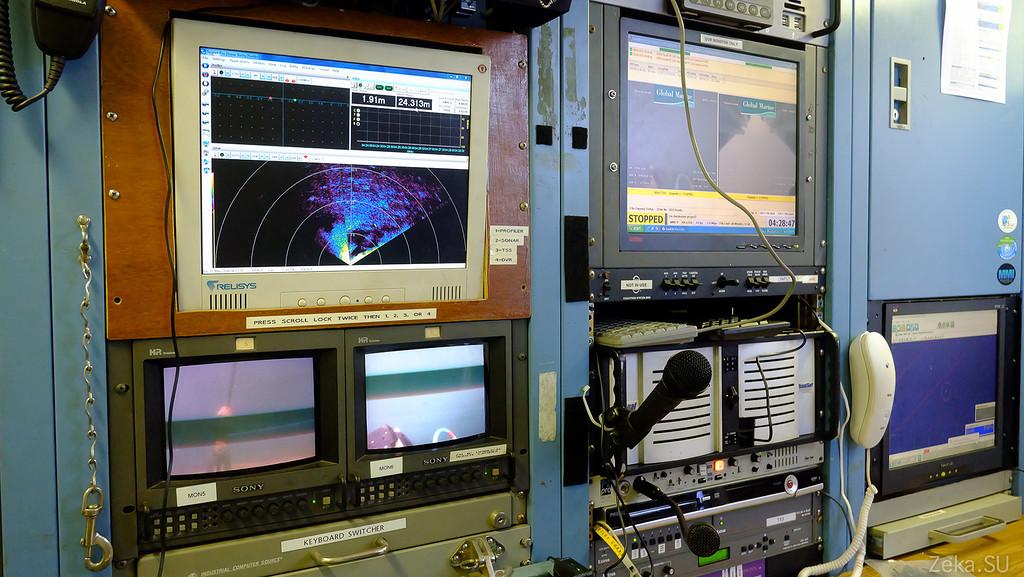 Строительство линии связи Камчатка – Сахалин – Магадан. Экскурсия на Cable Innovator — судно-кабелеукладчик - 97