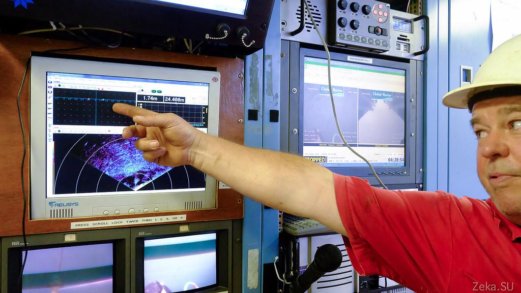 Строительство линии связи Камчатка – Сахалин – Магадан. Экскурсия на Cable Innovator — судно-кабелеукладчик - 98