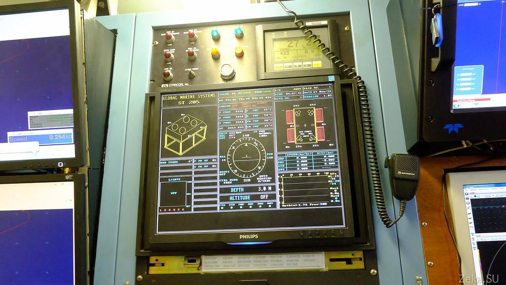Строительство линии связи Камчатка – Сахалин – Магадан. Экскурсия на Cable Innovator — судно-кабелеукладчик - 99