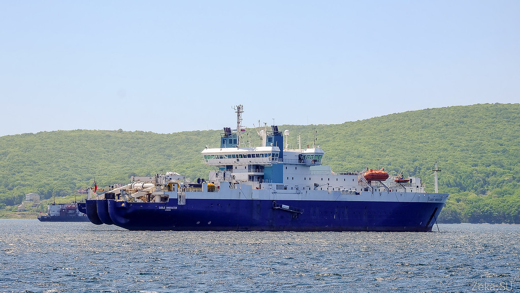 Строительство линии связи Камчатка – Сахалин – Магадан. Экскурсия на Cable Innovator — судно-кабелеукладчик - 1