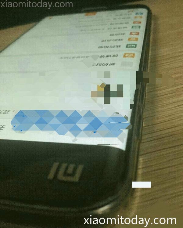 Опубликована фотография смартфона Xiaomi Mi Edge с изогнутым дисплеем