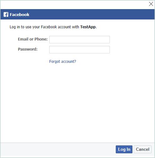 Работа с Facebook API из приложений UWP - 11