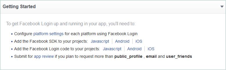 Работа с Facebook API из приложений UWP - 6